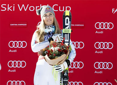 Lindsey Vonn Foundation Partners Up to Grant Sports Scholarships To Youth Athletes In Need